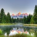 Grand Tetons Sunrise 2 by Paul Quinn