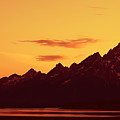 Grand Tetons Sunset by Teresa Zieba