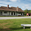 Grand Trunk Railroad - Gorham New Hampshire by Erin Paul Donovan