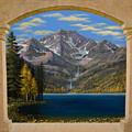Grand Vista Mural Sketch by Frank Wilson
