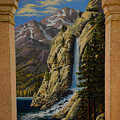 Grand Vista Wall Mural Side Panel by Frank Wilson
