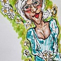 Grandma Hippie by Geraldine Myszenski