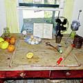Grandma's Baking Table by D Hackett