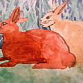 Grandma's Bunnies by April Patterson