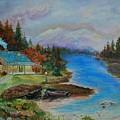 Grandmas Cabin by Leslie Allen
