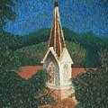 Grandmas Church by Jacqueline Athmann