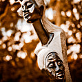 Grandmother Mother And Daughter by Venetta Archer