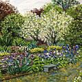 Grandmother's Garden Spring Blossoms by Richard Nowak