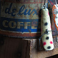 Old Fishing Lure by Sandra Church