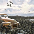 Grandpa's Old Truck by Anthony J Padgett