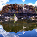 Granite Dells Reflection by Amy Sorvillo