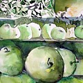 Granny Smith Apples by Mindy Newman