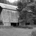Granville Barn Bw by Jeff Roney