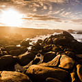 Granville Harbour Tasmania Sunrise by Jorgo Photography - Wall Art Gallery