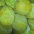 Grape Abstract by Cathy Kovarik
