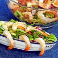 Grapefruit And Shrimp Salad by Robert Meyers-Lussier