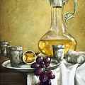 Grapes And Cristals by Natalia Tejera