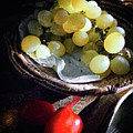 Grapes And Tomatoes by Silvia Ganora