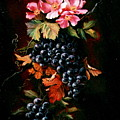 Grapes With Wild Roses by Patricia Rachidi