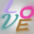 Graphic Display Of The Word Love  by Humourous Quotes