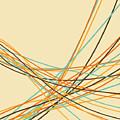 Graphic Line Pattern by Setsiri Silapasuwanchai