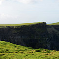 Grass Fields Surrounding The Cliff's Of Moher by DejaVu Designs