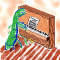 Grasshoppers Don't Play Piano by Rob Keay