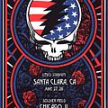 Grateful Dead Santa Clara Ca by The Saint