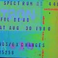 Grateful Dead - Ticket Stub by Susan Carella