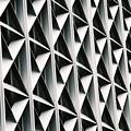 Gray Grid by Oscar Duran