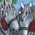 Gray Horses by Anna Folkartanna Maciejewska-Dyba