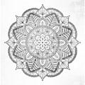 Gray Mandala by Aga Szafranska