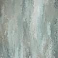 Grayish Blue Abstract Art by Lourry Legarde