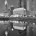 Grayscale Columbus by Frozen in Time Fine Art Photography