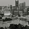 Grayscale Pittsburgh by Frozen in Time Fine Art Photography