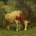 Grazing Cow by MotionAge Designs