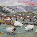 Grazing Woolies by Christine Lathrop