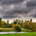 Great Barford River View by Chris Thaxter