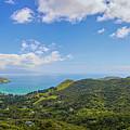 Great Barrier Island New Zealand Lookout Point by Joan Carroll