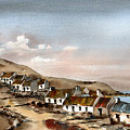Great Blasket Island, Kerry...1 by Val Byrne