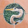 Great Blue Heron by Dy Witt