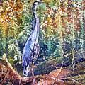 Great Blue Heron by Hailey E Herrera