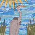 Great Blue Heron by Pamela Schiermeyer
