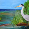 Great Blue Heron by Sherri McKendree