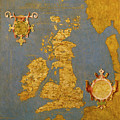 Great Bretain And Ireland by Italian painter of the 16th century