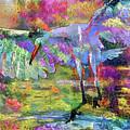 Great Egret Art 072316 by Tam Ryan