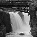Great Falls In  Paterson Nj by Eleanor Bortnick