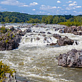 Great Falls National Park Virginia by Leslie Banks