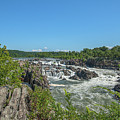 Great Falls Of The Potomac River Ds0093 by Gerry Gantt