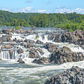 Great Falls Of The Potomac River Main Falls Ds0091 by Gerry Gantt